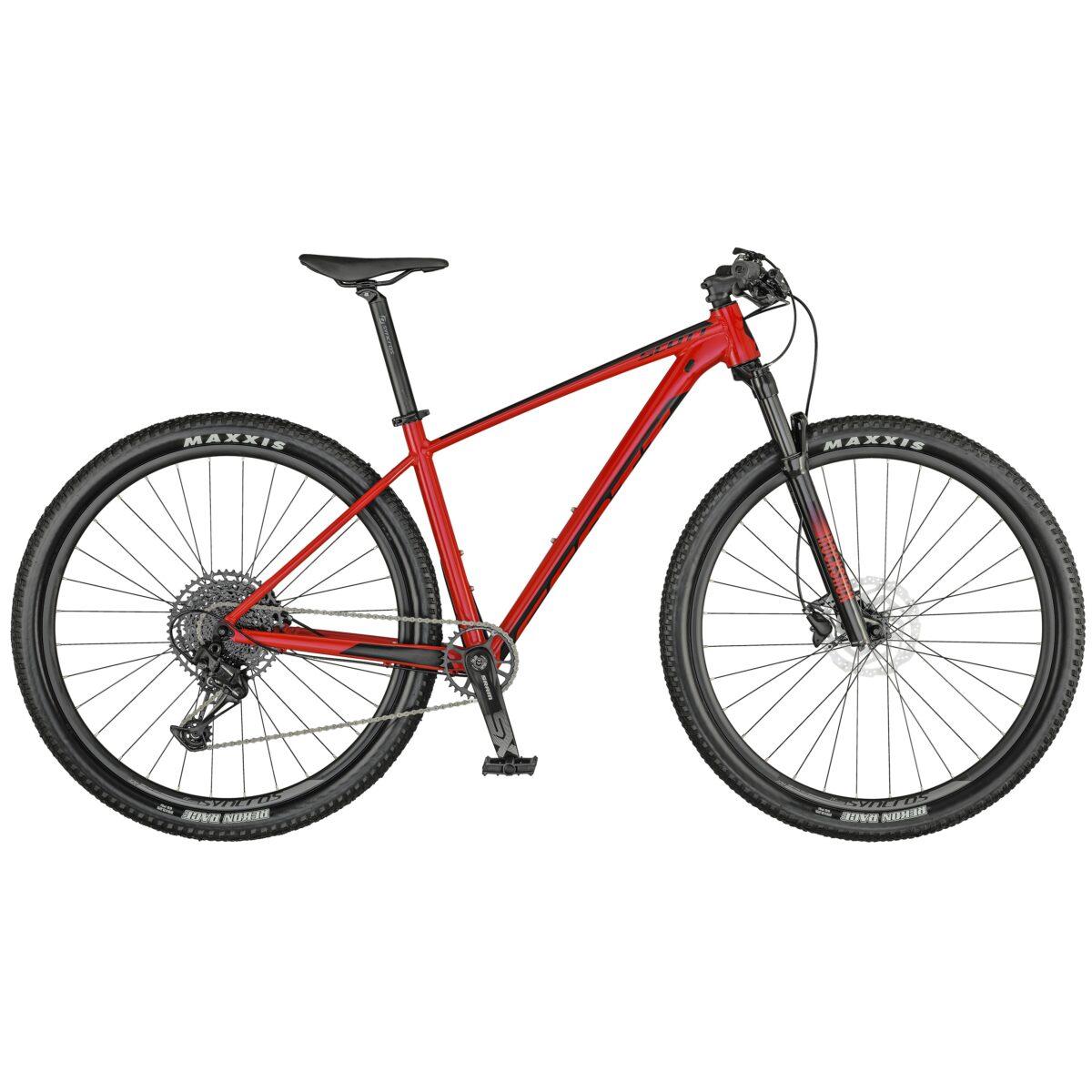 Bicicleta Scott Scale 970 modelo 2021 color red