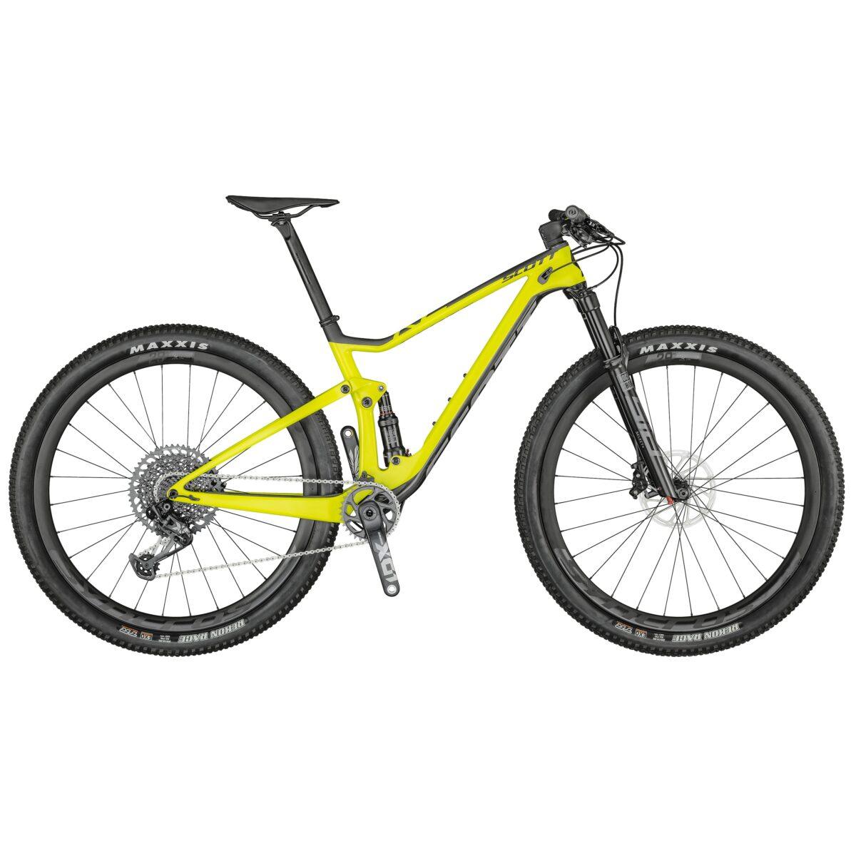 BICICLETA-SCOTT-SPARK-RC900-WC color YELLOW