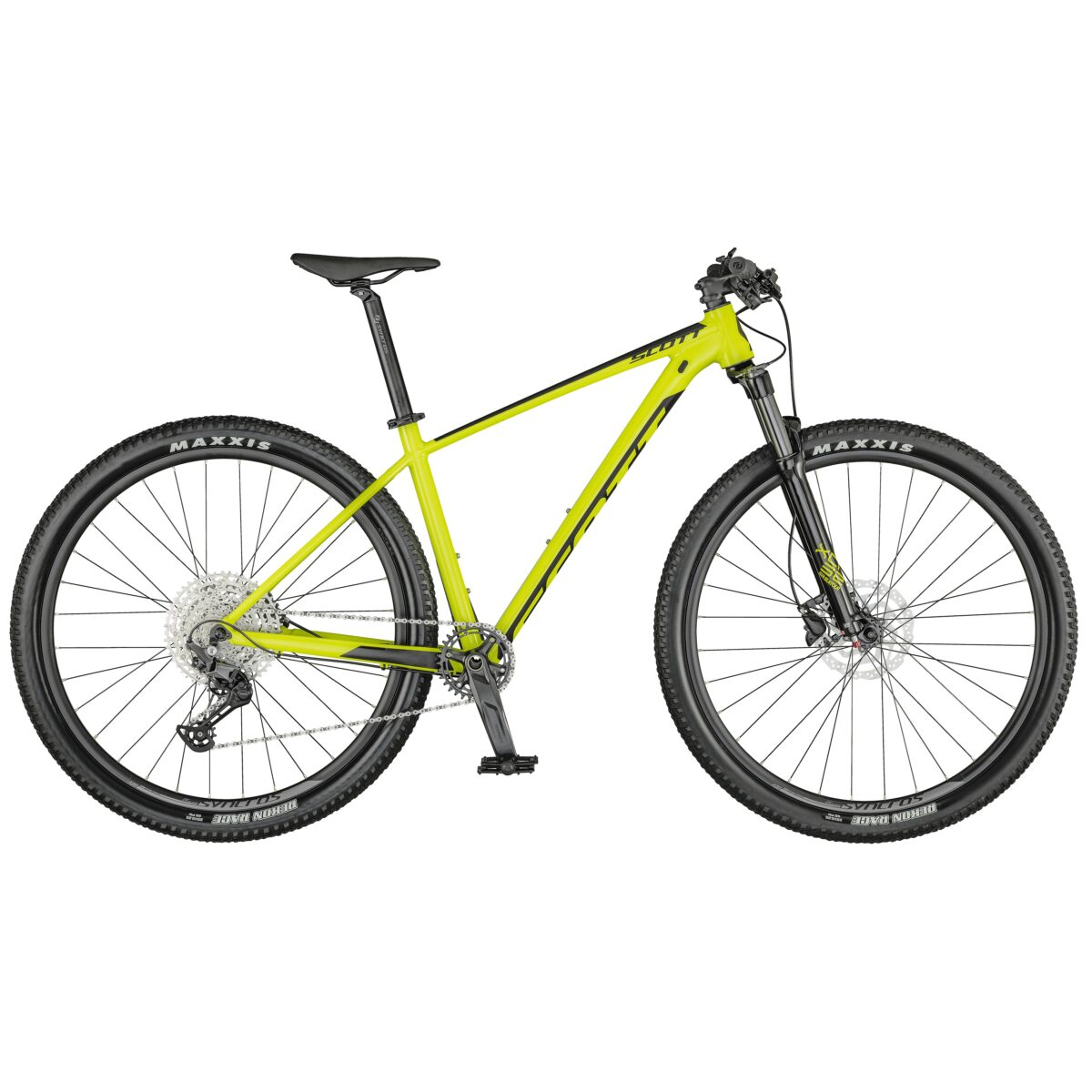 BICICLETA-SCOTT-SCALE-980 color YELLOW